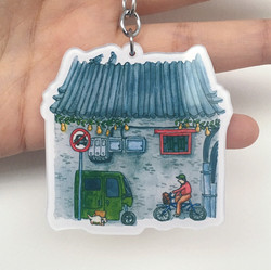 The Back Side of The Hutong House