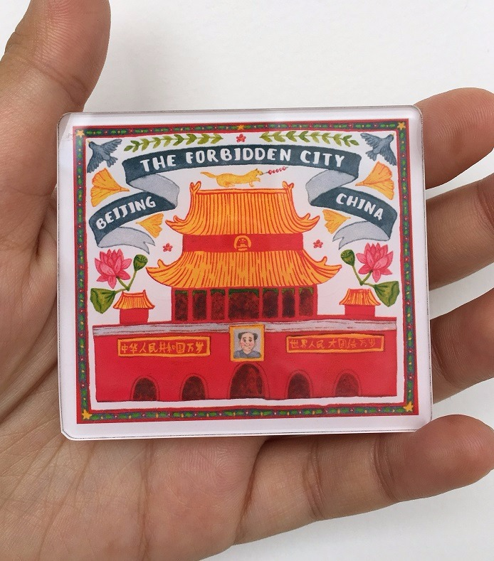 The Forbidden City Magnet