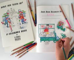 Liuba Draws Coloring Book