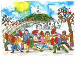 Beihai Park Liuba Draws