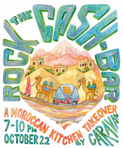 Rock the Cash-bar poster for Jing A