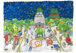 6 June Bell Tower Stars