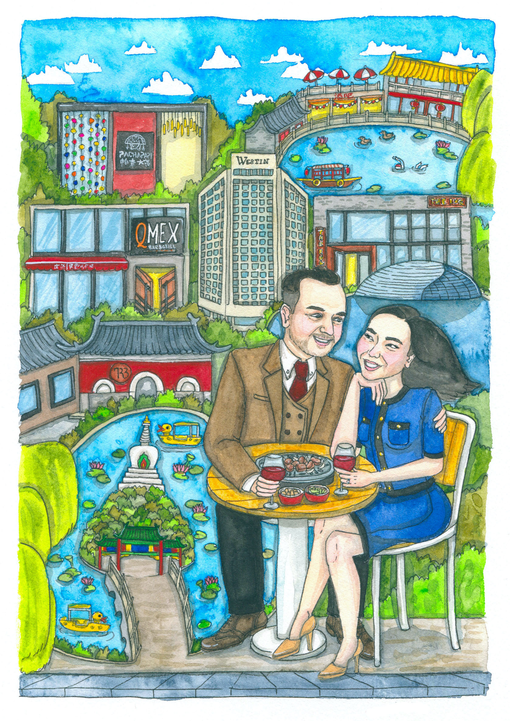 Liuba Draws Portrait Commission