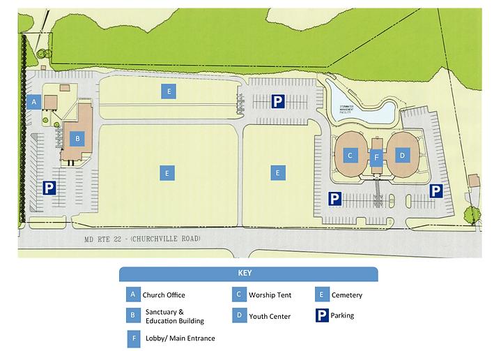 Mtzion Campus Map