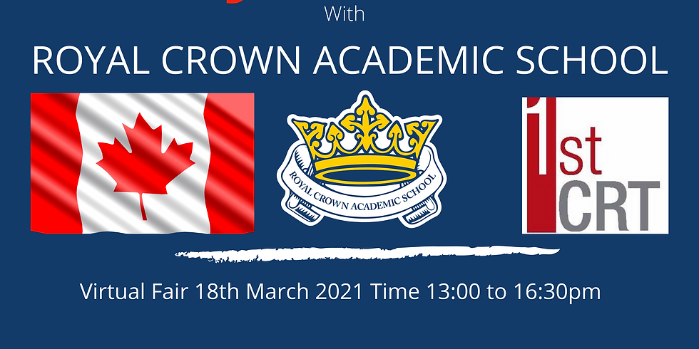 STUDY IN CANADA AT ROYAL CROWN ACADEMIC SCHOOL