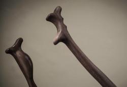Music blade handles
