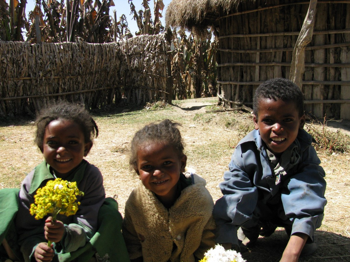 children_africa_ethiopia_village_african