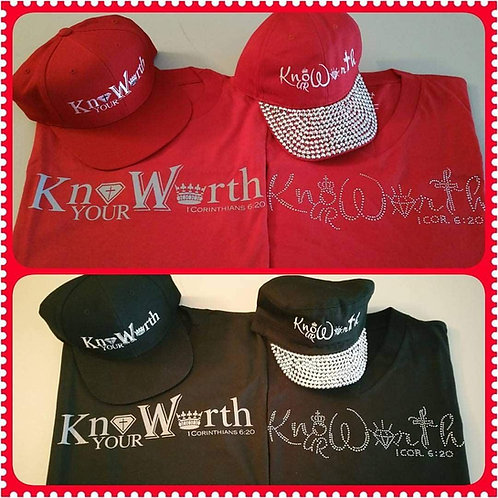 His & Hers Know Ur Worth Gear w/hat
