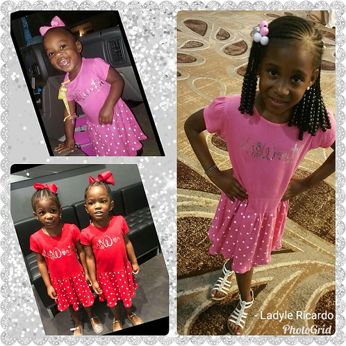 Princess Know Ur Worth dress