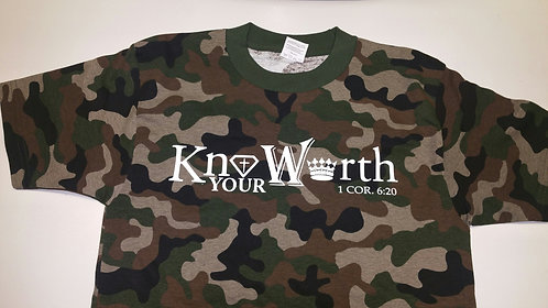 Know Your Worth Camouflage