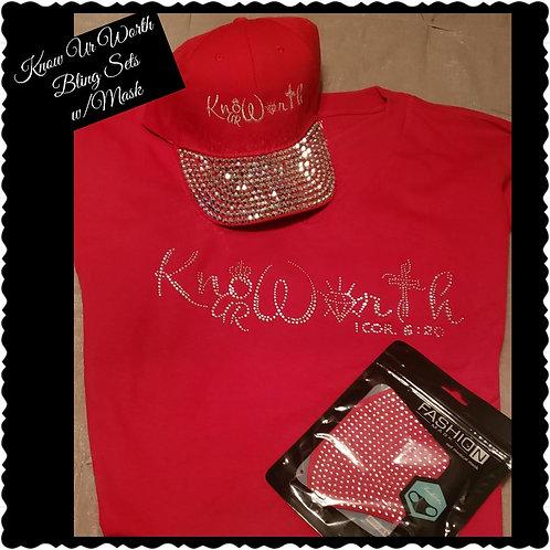 Know Ur Worth Sets w/Mask