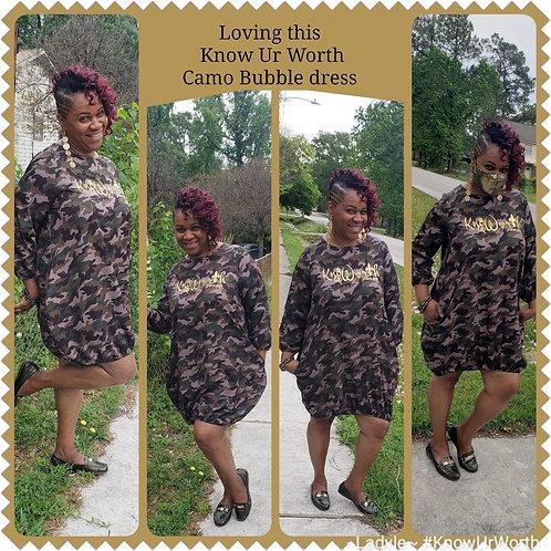 Know Ur Worth Bubble Dress