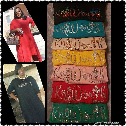 Know Ur Worth Classy Dress w/pockets