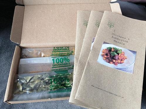 Recipe and Spice Kit Box