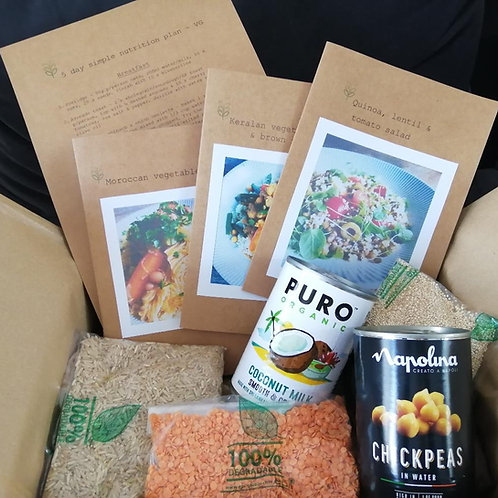 Recipe and Nutrition Box - P&P included 1st class post in UK (1-3 week days)