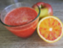 Today's juice I made was blood orange, b