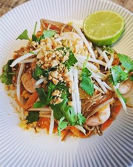 My twist on pad thai.. Buckwheat noodles