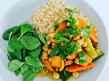 Vegan tagine I made for today's yoga ret