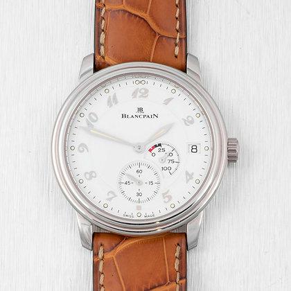 1996 Blancpain Villeret Ultra Slim Power Reserve 36mm Watch 1106-1127 COMPLETE