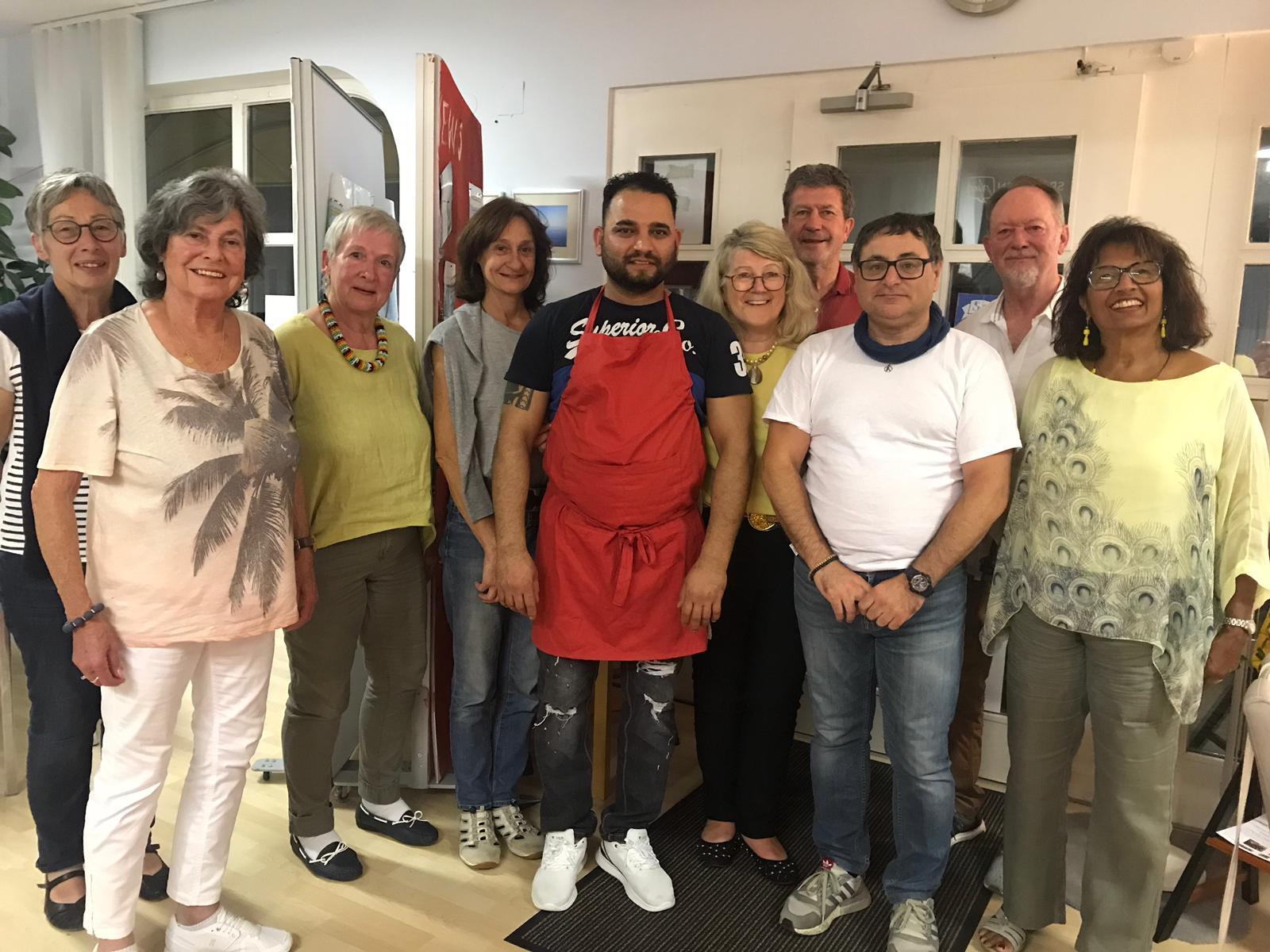 Indisch Kochen mit Freunden