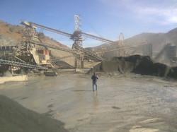 Volume estimation at quarry