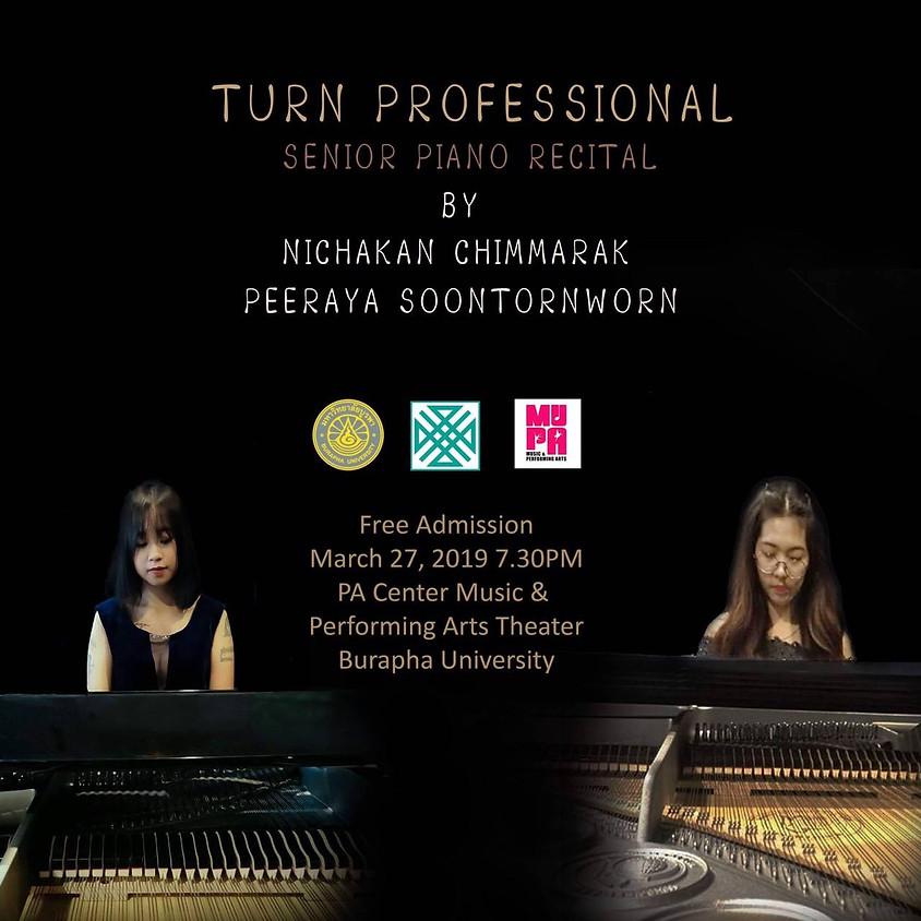 Senior Piano Recital by Nichakarn Chimmarak & Peeraya Soontornworn