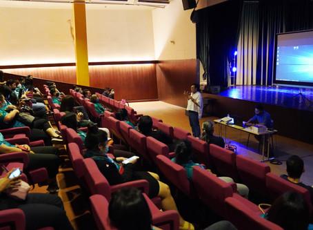คณะดนตรีและการแสดง ให้การต้อนรับคณะศึกษาดูงานจากคณะมนุษยศาสตร์ มหาวิทยาลัยเกษตรศาสตร์