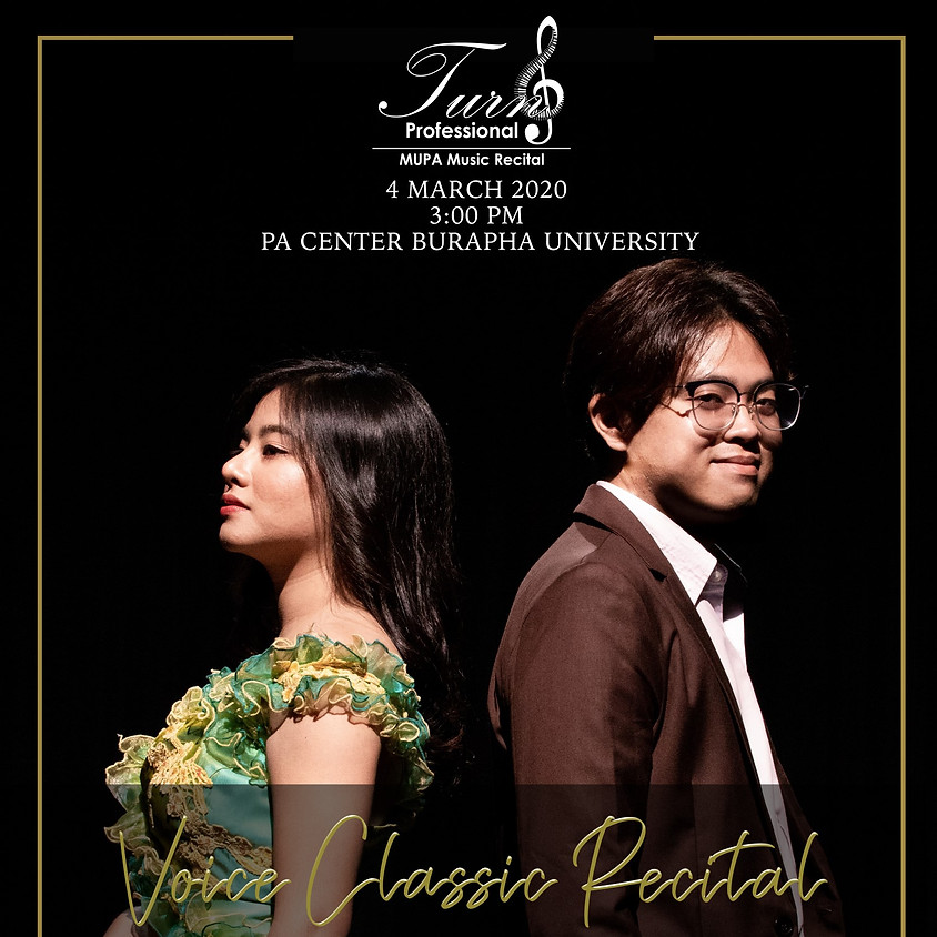 Voice Classic Recital by Sunisa Suksanguansil, Phalatip Tunprasert