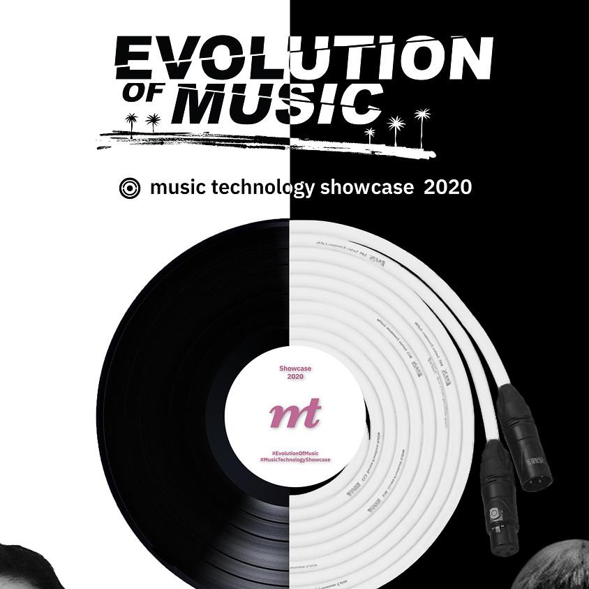 EVOLUTION OF MUSIC - Music Technology Showcase 2020 (17 มี.ค.)