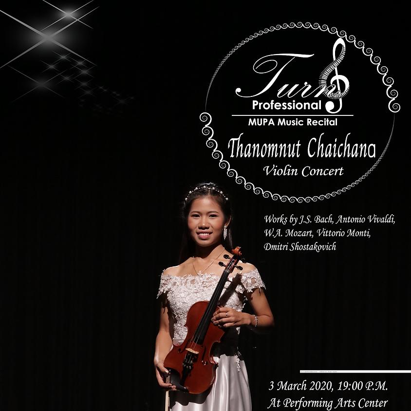 Thanomnut Chaichana Violin Concert