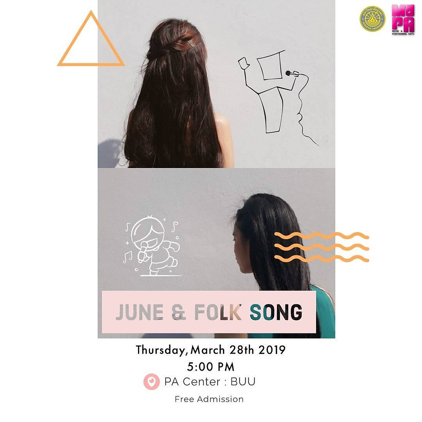 JUNE & FOLK SONG