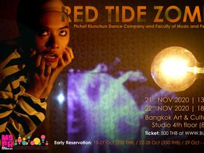 🟧 RED TIDE ZOMBIE 🟧 by  Pichet Klunchun Dance Company x คณะดนตรีและการแสดง