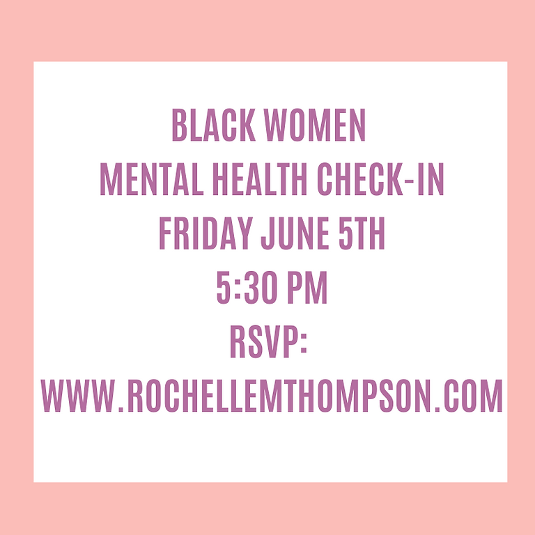 Mental Health Check-In