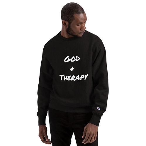 God +Therapy Champion Sweatshirt