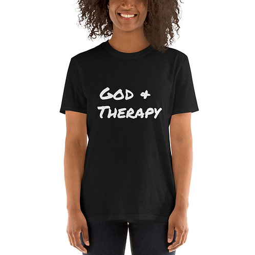 God & Therapy T-shirt