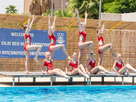 אילת 2019 הצטרפו גם אתן לחוויה בלתי נשכחת לבנות שחייה אומנותית