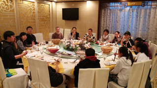 Food and Chinese Homestay Students