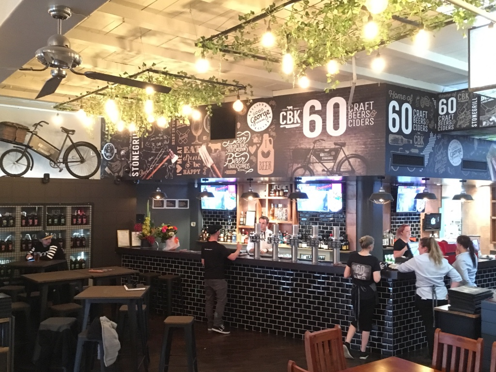 Home to 60 Craft beers & ciders