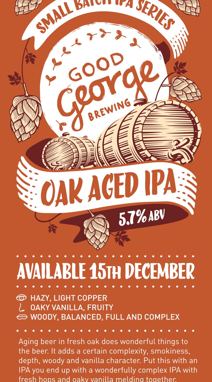 Oak Aged IPA