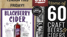 NEW GOOD GEORGE BLACKBERRY CIDER...