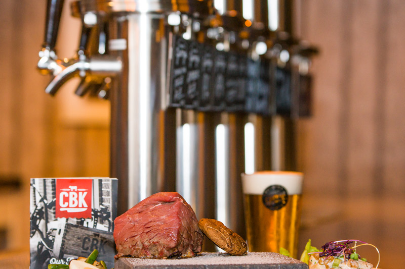 Good meat & great beer!