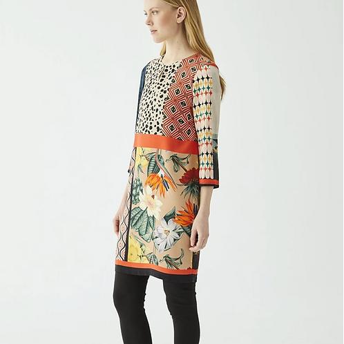 Vilagallo - Tesa Patchwork Dress
