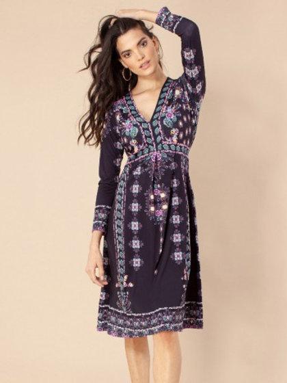 OTTAVIA JERSEY DRESS