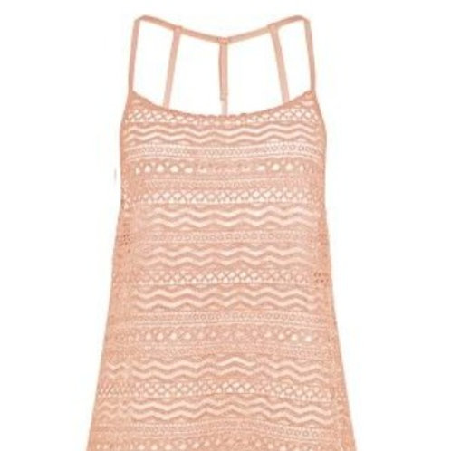 WATERCULT APRICOT BEACH DRESS