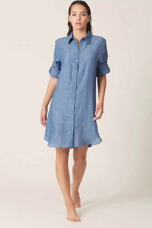 SWIM DONNA CHAMBRAY COVER-UP