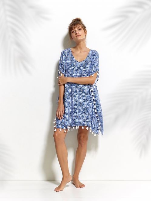 INDIGO ESCAPE TUNIC