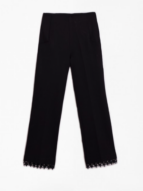 LIDIA BLACK TROUSERS