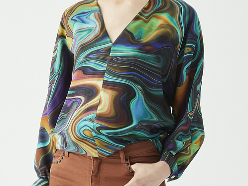 WINTER MARBLE SHIRT