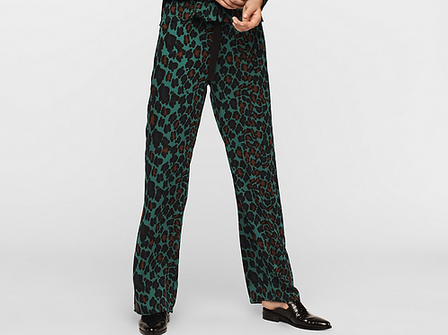 Nik Crepe Wide-Leg Pants