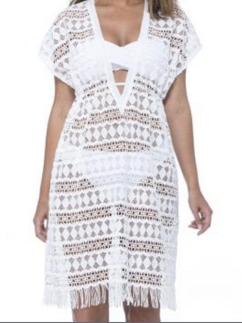 PROFILE WHITE BEACH DRESS